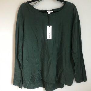 BB Dakota NWT Green Blouse/Top